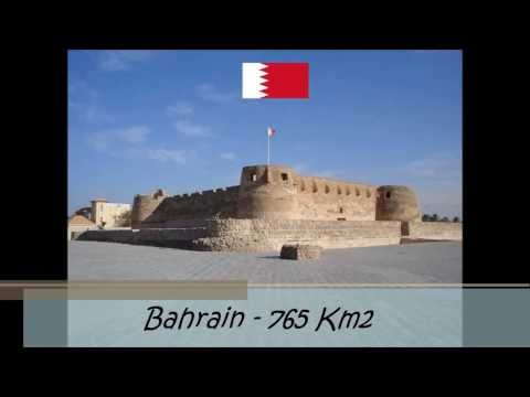 10 Smallest Countries in the Arab World