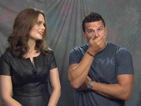 David Boreanaz & Emily Deschanel Interview