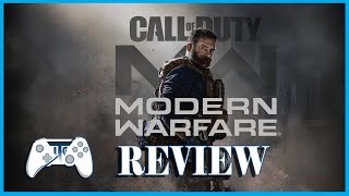 CALL OF DUTY MODERN WARFARE Single Player Review (Video Game Video Review)