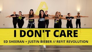 """I Don't Care"" 