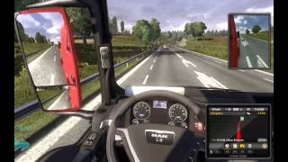 Euro Truck Simulator 2 (gameplay) - Koln [DE] to Aberdeen [GB] (full)