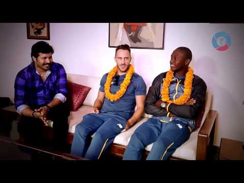 A dream made true for an Indian fan by the SA cricketers  #GharPe