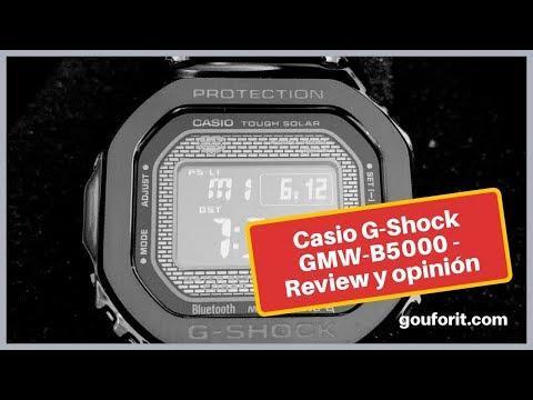 Un rápido vistazo al reloj Casio G-Shock GMW B5000