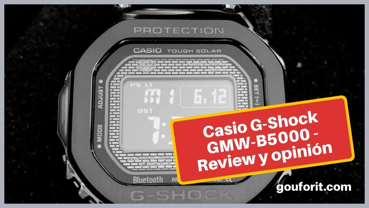 23445d263 Casio G-Shock GMW-B5000 – Review y opinión