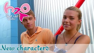 Behind the scenes: New characters // H2O - JUST ADD WATER // official Fan Channel