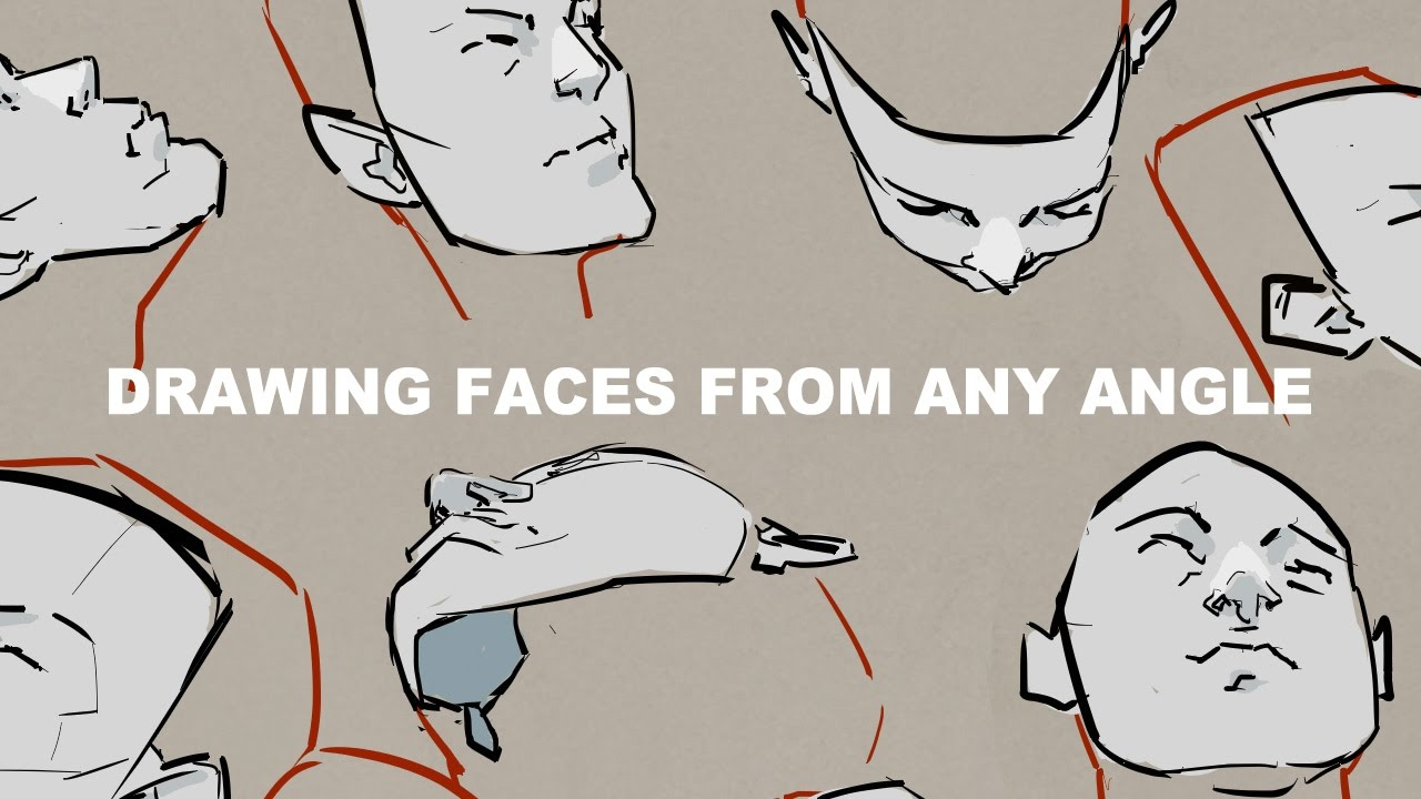 Drawing Faces From Any Angle Youtube
