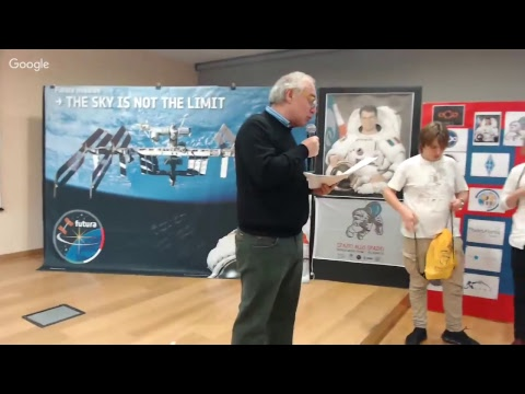 ARISS School Contact con P. Nespoli - Contatto condiviso con College Pierre de Fermat, Toulouse