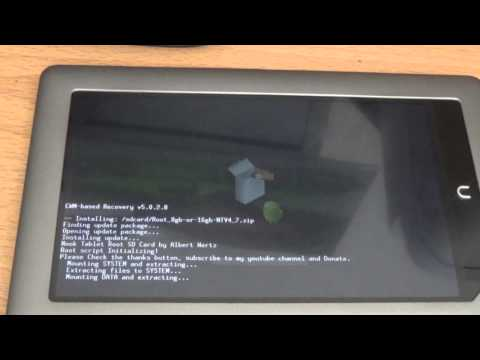 How To Root Nook Tablet 1.4.3 (IN 10 MINUTES OR LESS) NOT NOOK COLOR  [Update Video]