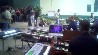 Rejoice - Love and Faith Christian Fellowship Mass Choir (Rehearsal)