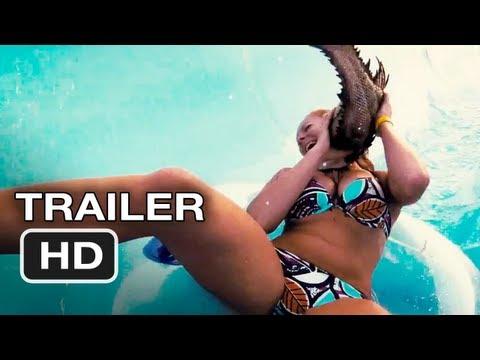 Random Movie Pick - Piranha 3DD Official Trailer #1 - Ving Rhames Movie (2012) HD YouTube Trailer