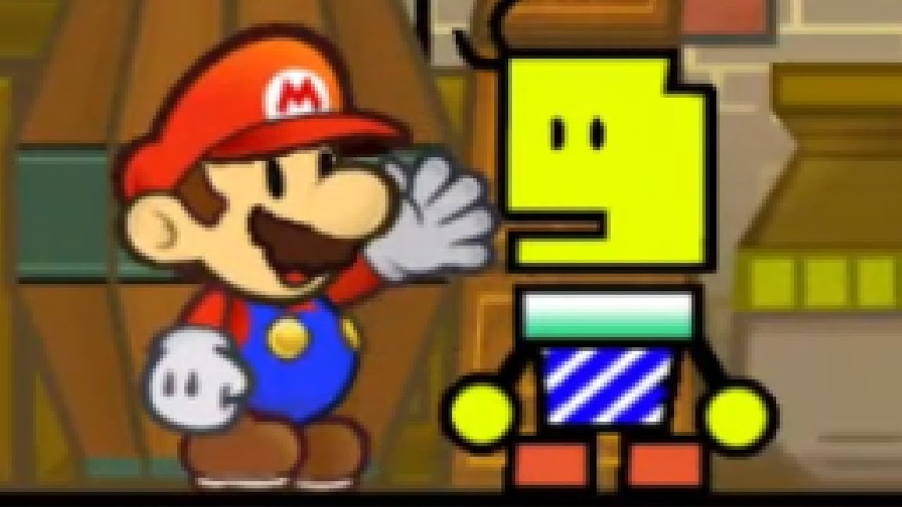 [TCRF] - Super Paper Mario - Early Yold Town Residents