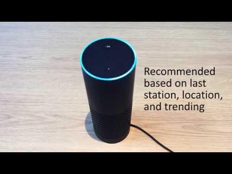 Radioplayer on Amazon Echo
