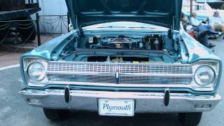 1965 Plymouth Belvedere Satellite Convertible Hurst Blu