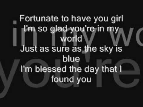 Maxwell- Fortunate (Lyrics on screen) SUB