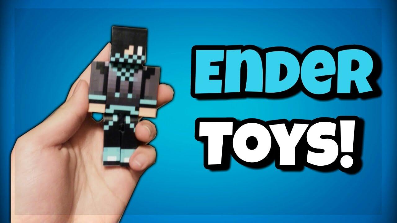 CUSTOM MINECRAFT TOYS!! - Ender Toys! - @SeusCraft - YouTube
