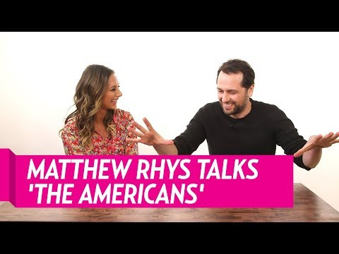 Matthew Rhys Talks About Working with Keri Russel on 'The Americans'
