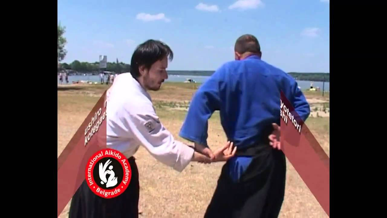 Aikido techniques by Bratislav Stajic: Ushiro ryotetori kote gaeshi