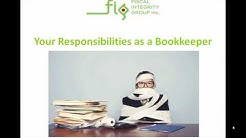 Your Responsibilities as a Bookkeeper