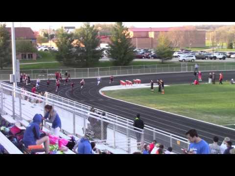 Chudi Ifediora and Cameron Tindall 200m dash at Verona 4/28/2015