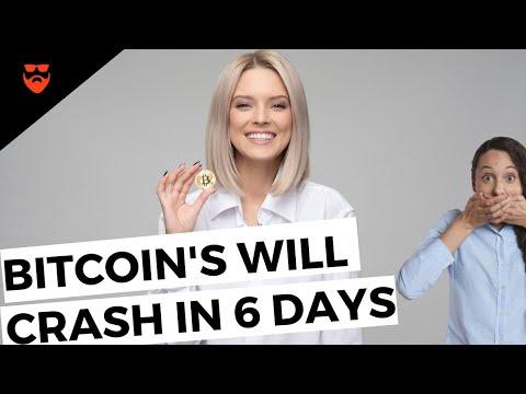Bitcoin Will CRASH In 6 DAYS | BITCOIN CRASH 2020