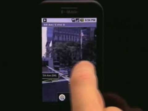 T-Mobile G1 (HTC) / Google Android - Exclusive Smart Phone Demo (lx808.tv)