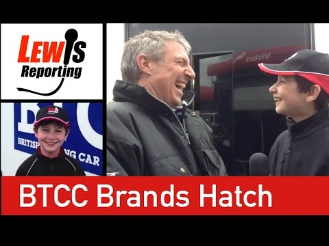 Jason Plato TeamBMR - Dunlop BTCC Brands Hatch 2015