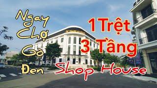 SIÊU RẺ -  Căn ShopHouse Kinh Doanh 1 Trệt 3 Tầng Gần Chợ Bình Chánh - Thắng Lợi Central Hill - SHR