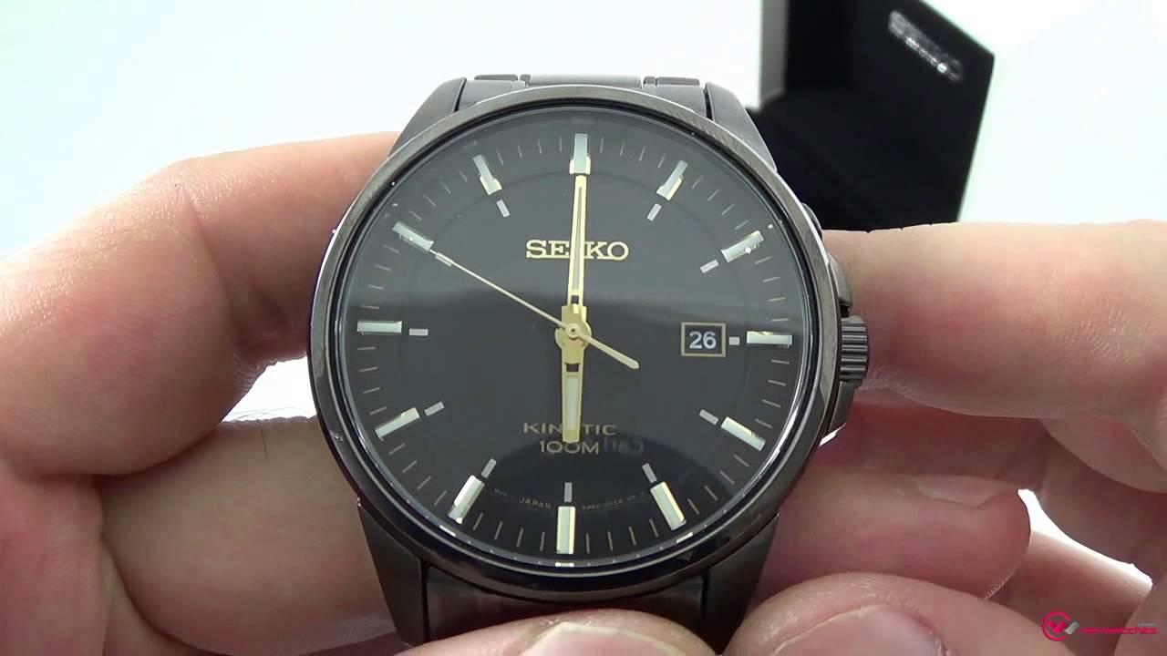 Seiko Kinetic Ska531p1 Youtube