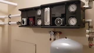 Воздушное отопление, конструктивное решение