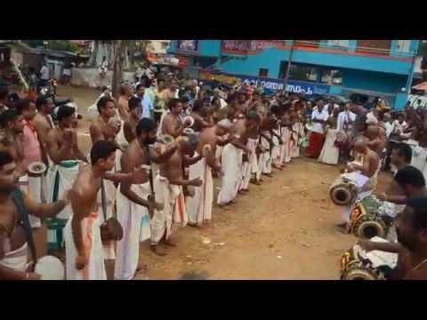 Amazing 'Panjavadyam'
