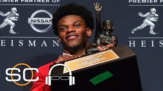 Why Are We Not Talking About Louisville QB Lamar Jackson? | SC with SVP | ESPN