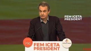 Zapatero señala rechazo