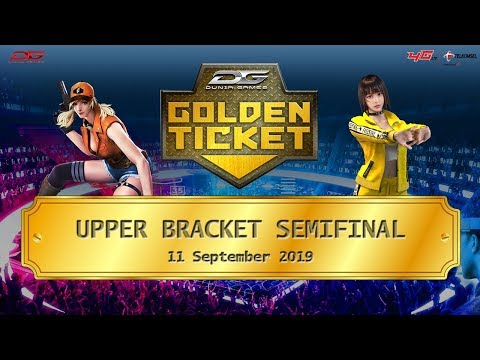 Semifinal Upper Bracket Dunia Games Golden Ticket Area 3 - 11 September 2019
