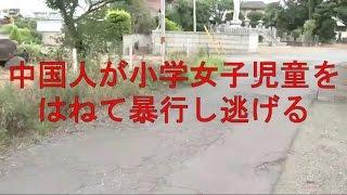 茨城・龍ケ崎 小学5年の女子児童の自転車に車をぶつけ転倒させ、殴って逃走した中国人の女を逮捕