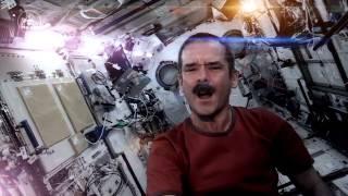 Первый клип в космосе - Space Oddity