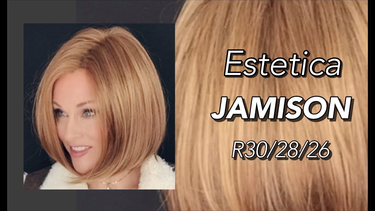 Estetica JAMISON wig review | R30/28/26 | Classic Bob Style!