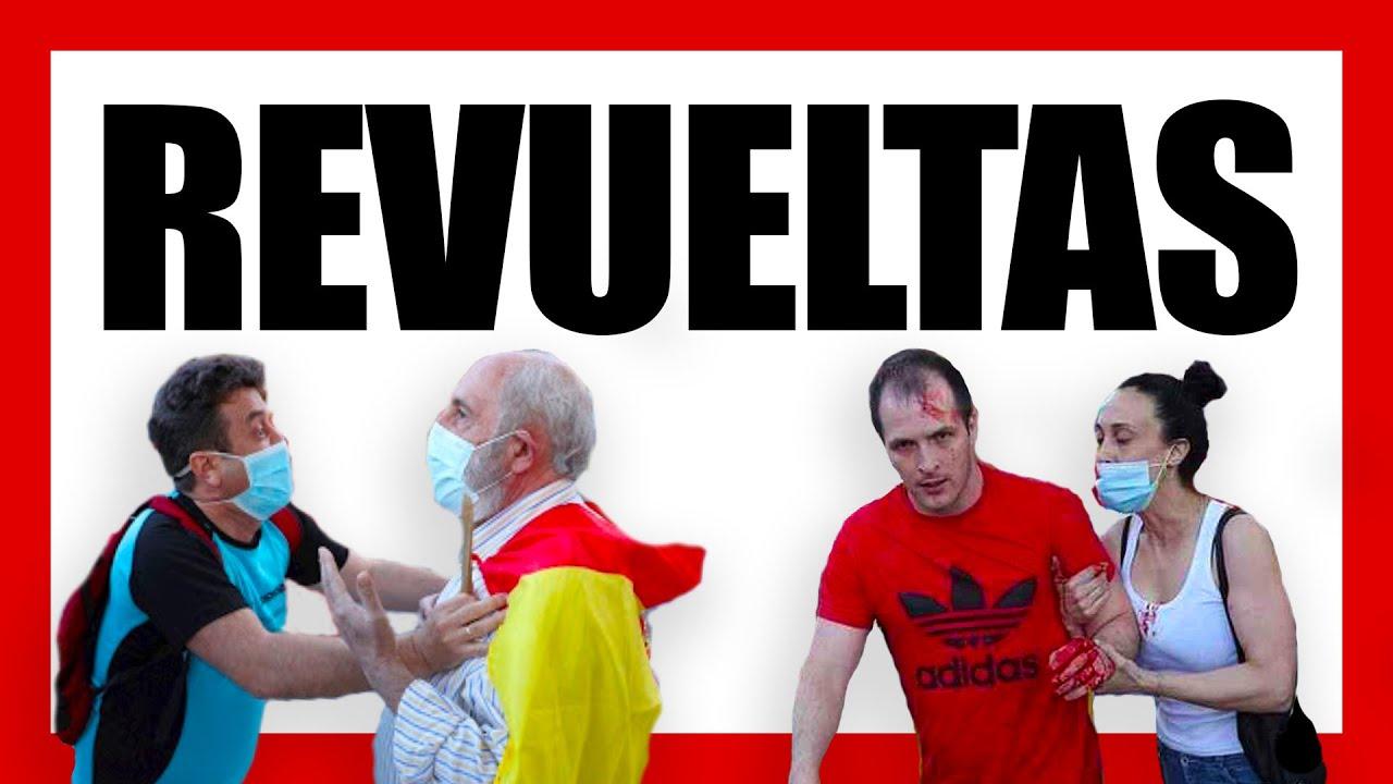 LOS PARTIDOS encienden LA CHISPA DEL MIEDO Y EL ODIO (manifestaciones y protestas)