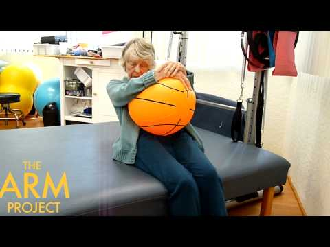 Beach Ball Core Strengthening After Stroke