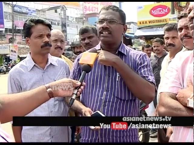 CITU Ernakulam District President got stabbed during Uber Taxi Strike