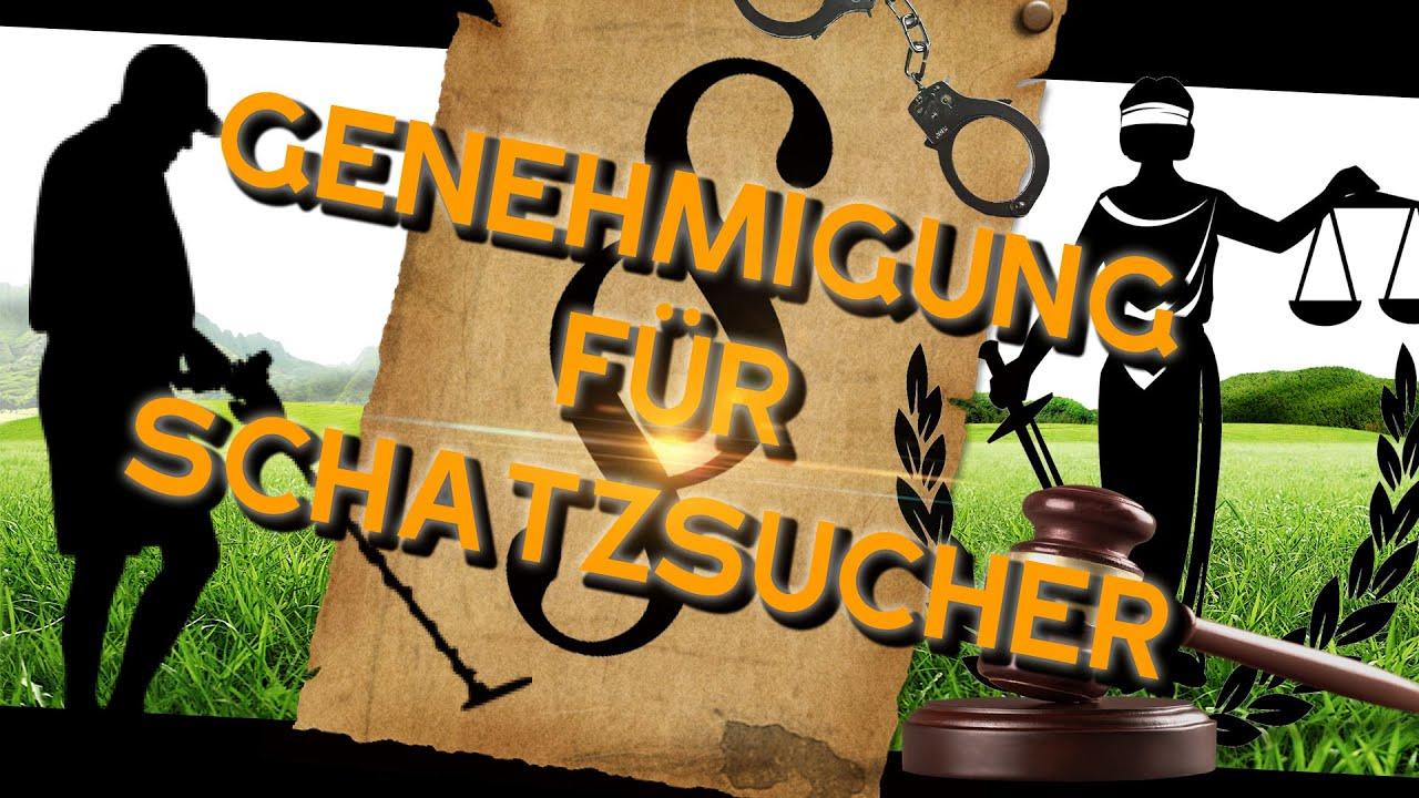 NFG in Deutschland - Genehmigung für Schatzsucher - Gesetze und Regeln für Sondengänger