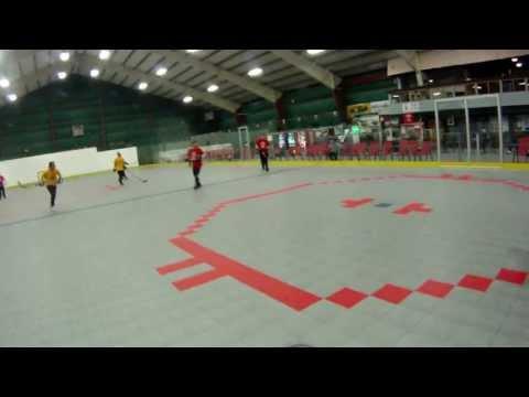 Ball Hockey Glove Save