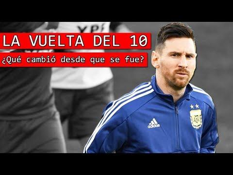 La VUELTA de Messi a la Selección Argentina y los CAMBIOS  en el Equipo 🤔