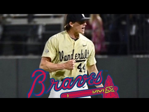 BRAVES SELECT KYLE WRIGHT 5TH OVERALL (MLB Draft)