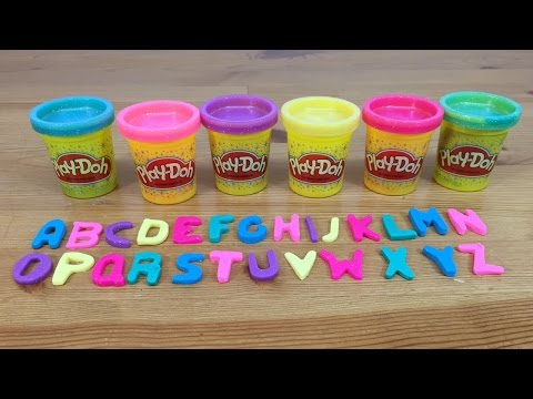 Play Doh Alphabet Letters ABC Learning Fun
