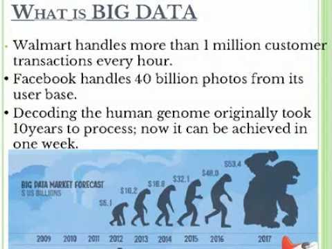 Big Data Seminar information