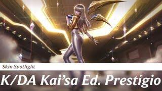Skin Spotlight - Kai'sa K/DA Prestigio