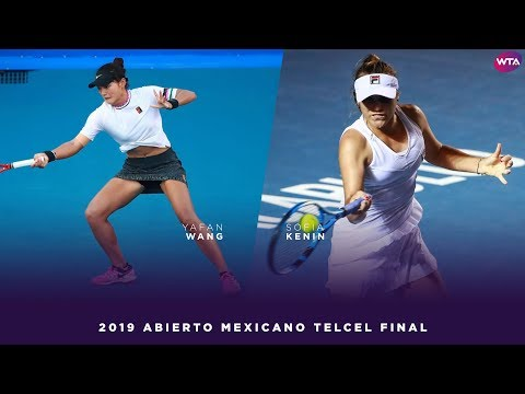 Wang Yafan vs. Sofia Kenin | 2019 Acapulco Final | WTA Highlights