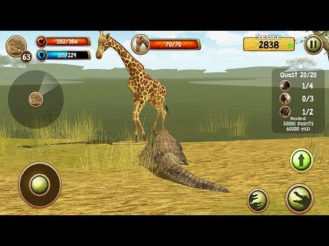 Wild Crocodile Simulator 3D Android Gameplay #10