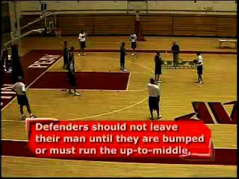 2-1-2 Match-Up Zone Defense