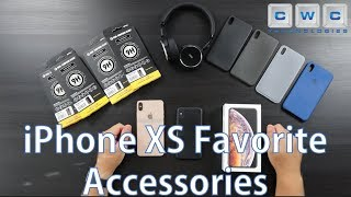 Apple iPhone XS Max & iPhone XS Favorite Accessories